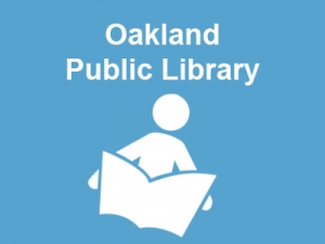 Howard L. Hibbard author of Curse of the Coloring Book speaks at the Oakland Public Library